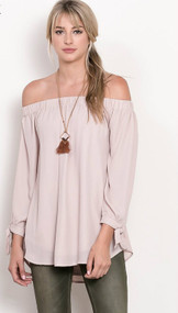The Reese Top-Blush Pink