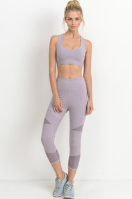 The Amaya Sports Bra- Lavender