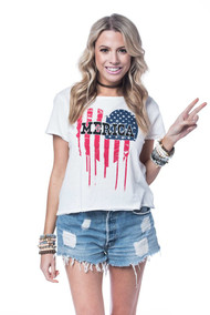 The Barbie Tee- 'Merica