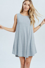 The Jocelyn Dress- Heather Grey