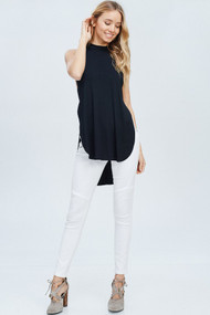 The Ana Top- Black