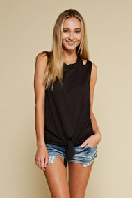 The Holly Tank- Black
