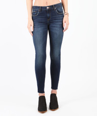 The STS Emma Crop Cut Off Hem Jeans
