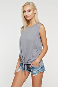 The Holly Tank- Grey