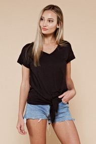 The Sawyer Top- Black