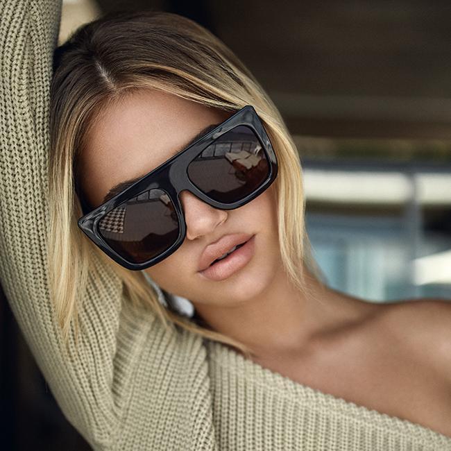 aa654417ba The Quay Australia Cafe Racer Sunglasses- Blk Smoke - Bria Bella ...