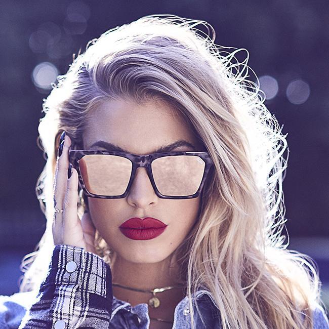 6f3777ec21 Home · Shop All  Quay Australia Alright Sunglasses- Tort  Gold. Image 1