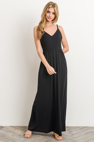 The Clara Maxi Dress- Black