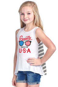 Kids Made in the USA Tee
