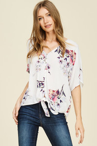 The Angela Top- Ivory