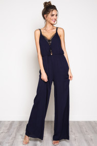 The Millie Jumpsuit- Navy