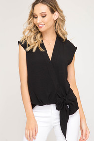 The Celine Top- Black