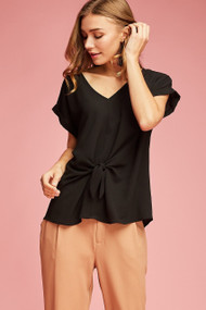 The Lila Top- Black