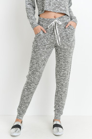 The Brianna Jogger Pants- Grey