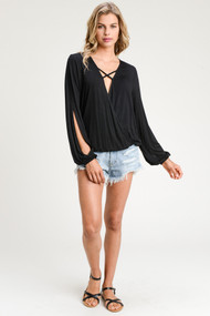 The Rae Top- Black