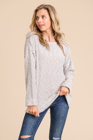 The Brooklyn Top-Grey