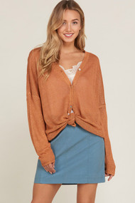 The Gianna Sweater- Amber