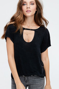 The Kelsey Top- Black