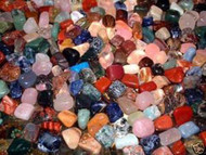 A88 Natural Tumbled Gemstone Mix 1-LB