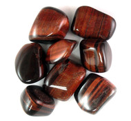 Red Tigers Eye Tumbled Gemstone 1LB