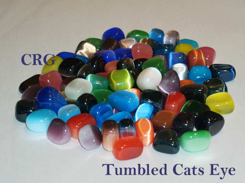 Tumbled Cats Eye 1/2-LB