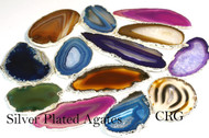 Silver Plated Agate