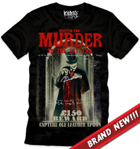 Killers Never Die  Jack the ripper - Ole Leather Apron T-Shirt