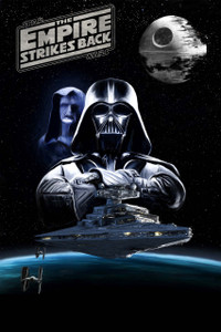 """Star Wars The Empire Strikes Back 12x18"""" Poster"""