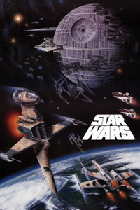 """Star Wars - Return of the Jedi Space Battle 12x18"""" Poster"""