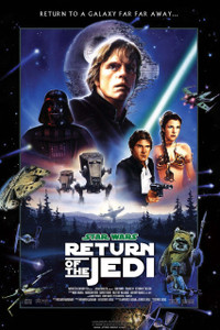 "Star Wars - Return of the Jedi 12x18"" Poster"