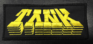 "Tank Logo 5x2"" Embroidered Patch"