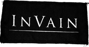 "In Vain Logo 8x4"" Printed Patch"