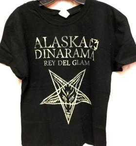Alaska y Dinarama Patchy Print Women's T-Shirt