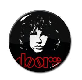 "Jim Morrison 2.25"" Pin"