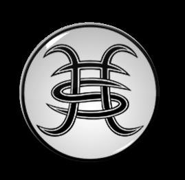"""Heroes del Silencio - Logo 2.25"""" Pin"""