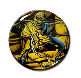 "Iron Maiden - Piece of Mind 2.25"" Pin"
