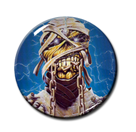 "Iron Maiden - World Slavery Tour 2.25"" Pin"