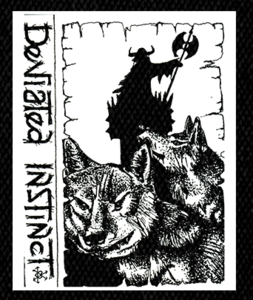 "Deviated Instinct Tip of the Iceberg 5x6.5"" Printed Patch"