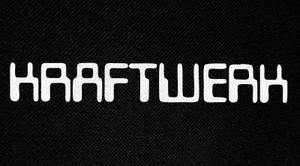 "Kraftwerk Computer Logo 6x3"" Printed Patch"