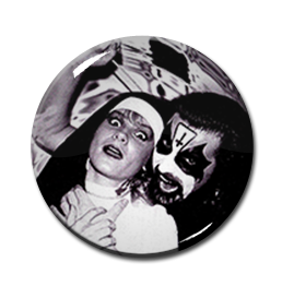 "King Diamond - Nun 2.25"" Pin"