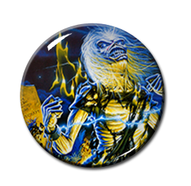 "Iron Maiden - Life After Death 2.25"" Pin"