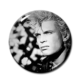 "Billy Idol - Billy 2.25"" Pin"