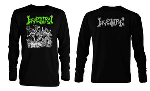 Incantation Blasphemous Cremation Long Sleeve T-Shirt **LAST ONES IN STOCK** HURRY!