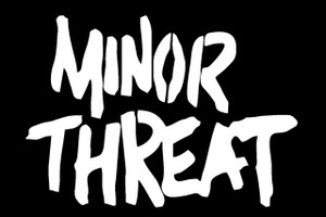 "Minor Threat - Logo 6x4"" Printed Sticker"