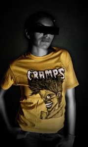 The Cramps Bad Music for Bad People Blouse T-Shirt