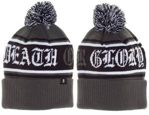 Sourpuss - Death or Glory Pom Knit Hat