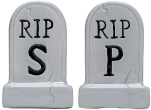 Sourpuss - Tombstone Salt and Pepper Shaker