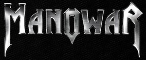 "Manowar Steel Logo 5x3"" Printed Patch"