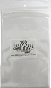 Plastic Comic Book Sleeves 100 Pieces Pack