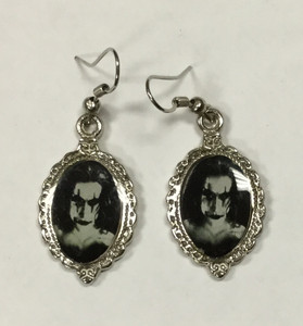 Eric Draven Cameo Earrings